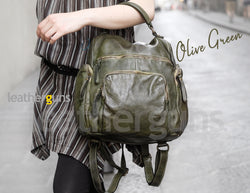 MELISA LEATHER BACKPACK