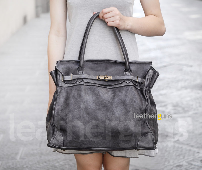 RAFFAELLA LEATHER HANDBAG