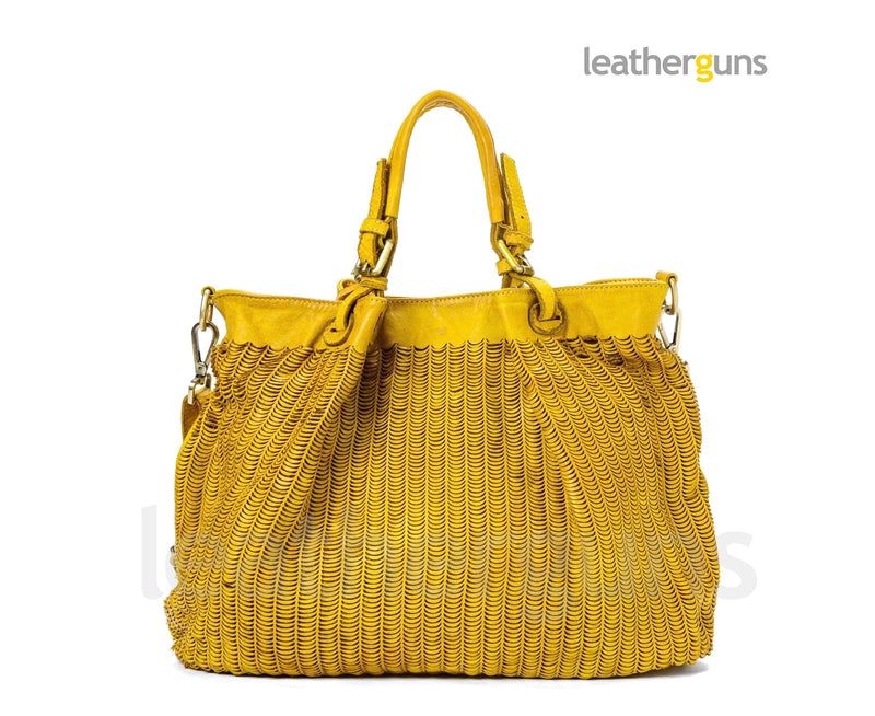 FRANCESCA LEATHER HANDBAG