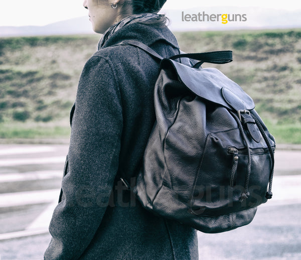 FRANCA LEATHER BACKPACK
