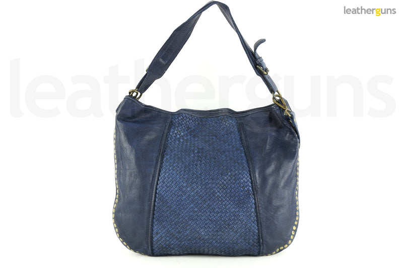 SARA LEATHER HOBO Bag