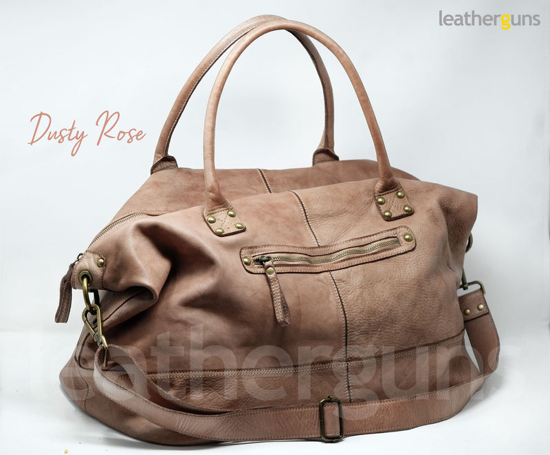 BRUNO LEATHER TRAVEL Bag