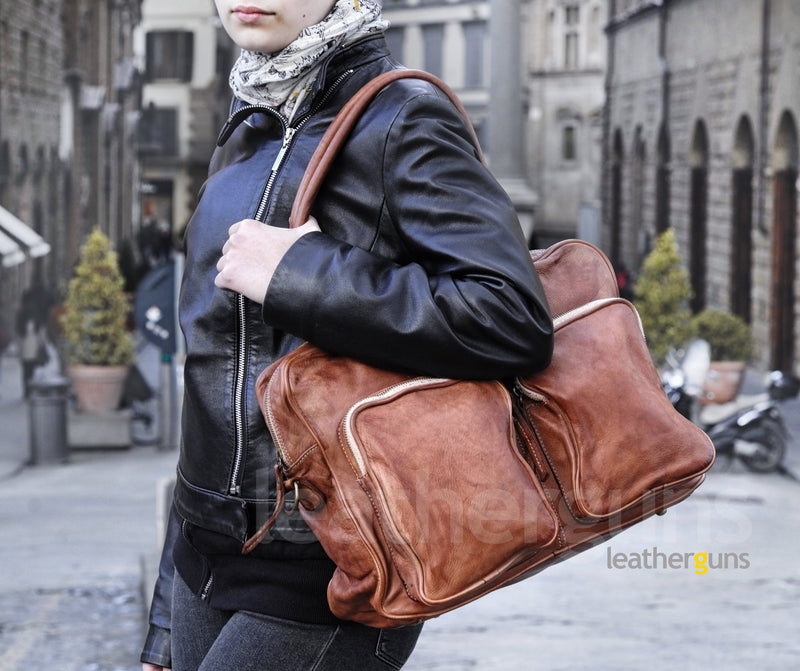 GRETA LEATHER BAG