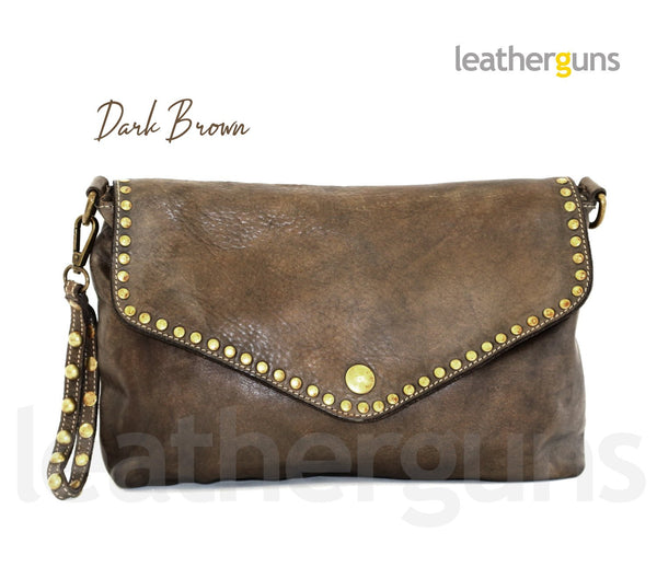 AURORA LEATHER CLUTCH