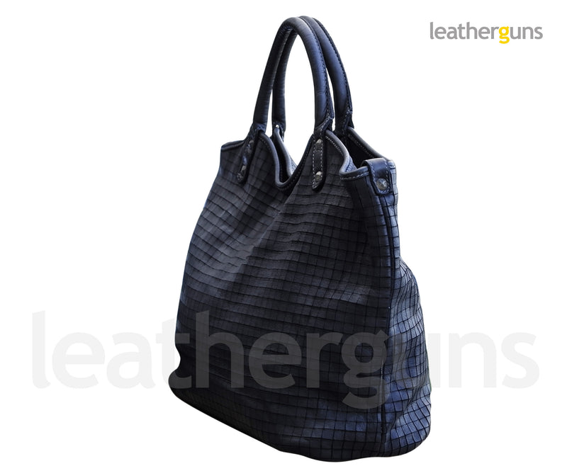 GEMMA LEATHER HANDBAG