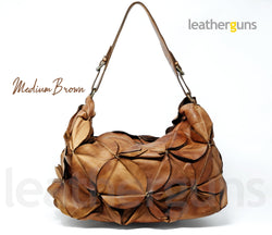 MARGHERITA LEATHER SHOULDER Bag