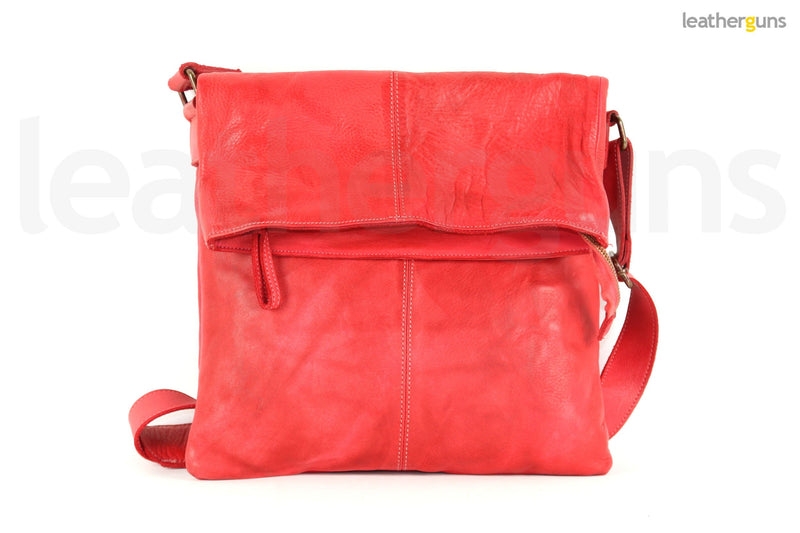 SANDRA LEATHER SHOULDER Bag