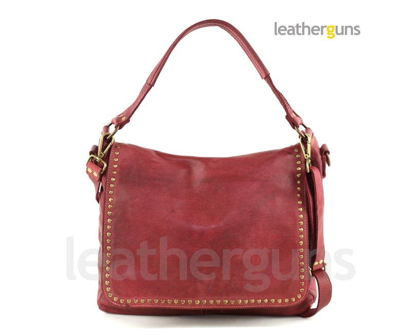 SERENA LEATHER SHOULDER Bag