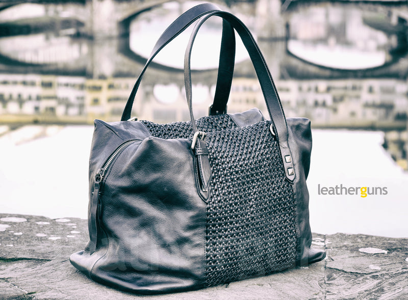 ELEONORA LEATHER HANDBAG