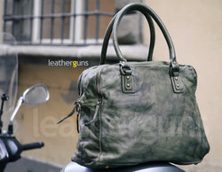 ISABELLA LEATHER HANDBAG