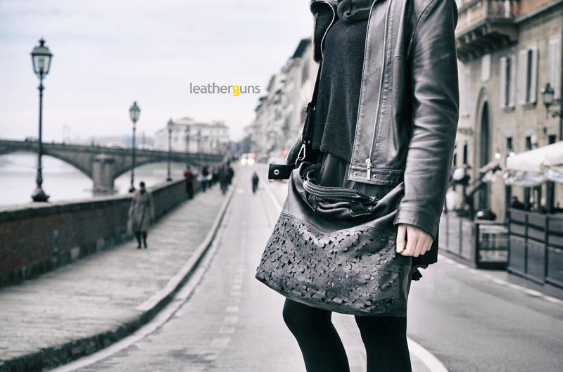 ADELE LEATHER HANDBAG