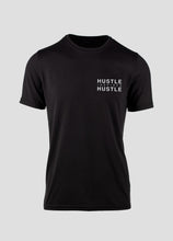 Load image into Gallery viewer, MENS Signature Black Athletic Tee - Hustle Inspires Hustle
