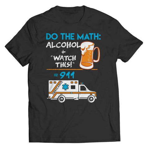 Alcohol + Watch this - Hoodie - Unisex Shirt / Black / s - Hoodie - Visualtshirt.com