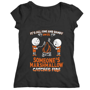 It's All Fine and Dandy - Hoodie - Ladies Classic Shirt / Black / s - Visualtshirt.com