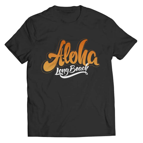Aloha - Long Beach - T-shirt - Unisex Shirt / Black / 5xl - Visualtshirt.com