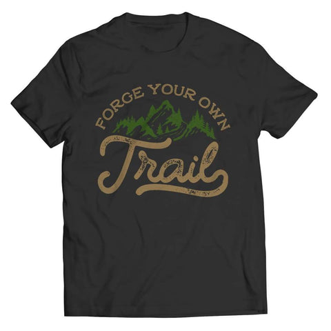 Image of Forge your own Trail - Long Sleeve - Unisex Shirt / Black / s - Visualtshirt.com