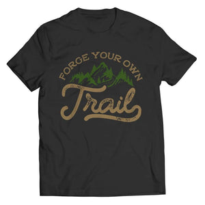 Forge your own Trail - Long Sleeve - Unisex Shirt / Black / s - Visualtshirt.com