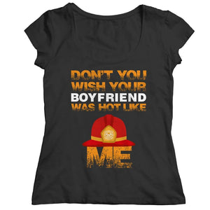Dont You Wish - Limited Edition - V-Neck - Ladies Classic Shirt / Black / S - V-Neck T-Shirt - Visualtshirt.com