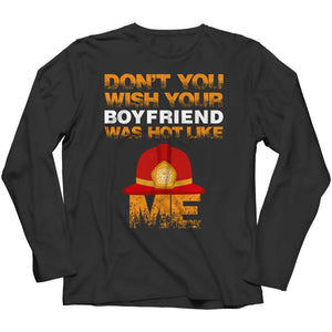 Don't you wish - Limited Edition - V-neck - Long Sleeve / Black / s - V-neck T-shirt - Visualtshirt.com