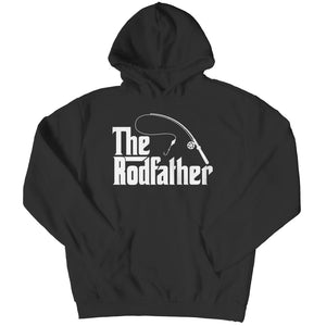 The Rodfather - T-shirt - Hoodie / Black / s - Unisex Shirt - Visualtshirt.com