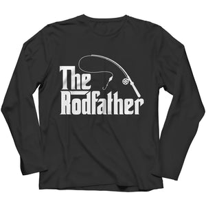 The Rodfather - T-shirt - Long Sleeve / Black / s - Unisex Shirt - Visualtshirt.com
