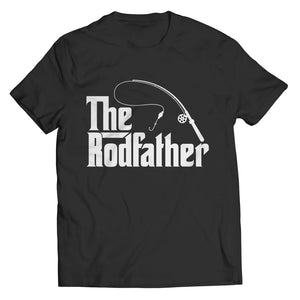 The Rodfather - T-shirt - Unisex Shirt / Black / s - Visualtshirt.com