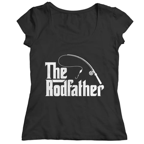 Image of The Rodfather - T-shirt - Ladies Classic Shirt / Black / s - Unisex - Visualtshirt.com