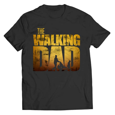 The Walking Dad - Crewneck Fleece - Unisex Shirt / Black / s - Visualtshirt.com