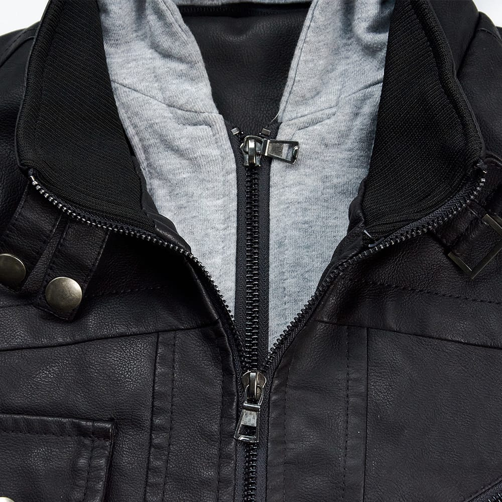 The Distinguished Gentleman's Ride | Pu Leather Motorcycle Jacket