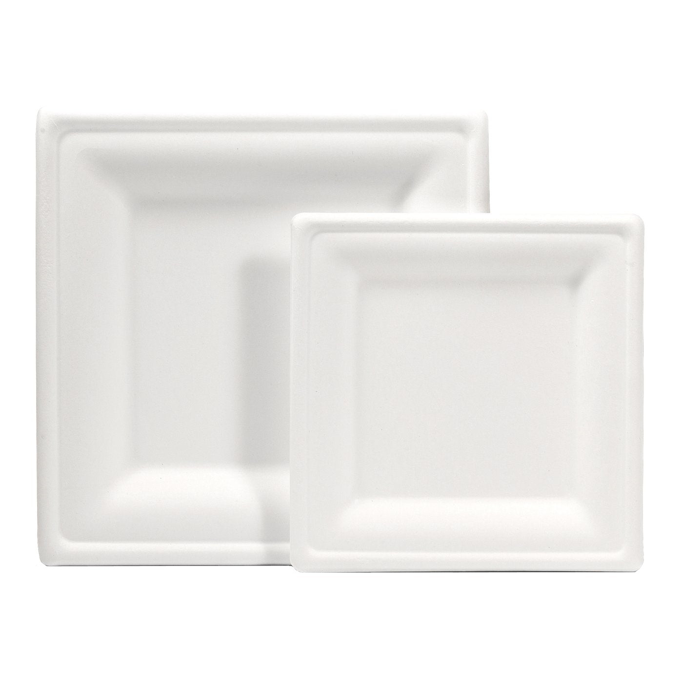 Bagasse Plates and Bowls - Square