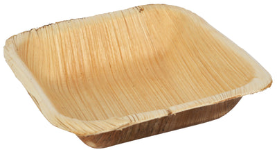 Palm Leaf Square Bowls - 25 Pack