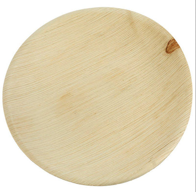 Palm Leaf Round Plates - 25 Pack