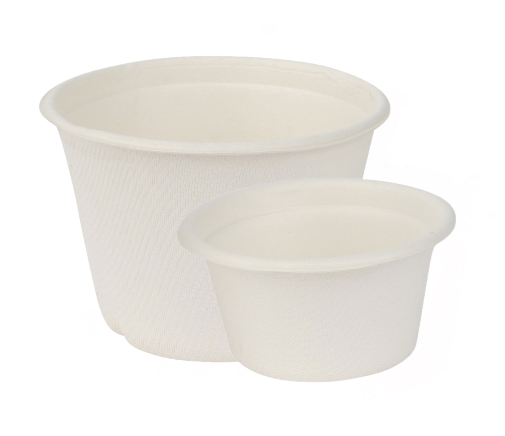 Bagasse Souffle` Cups