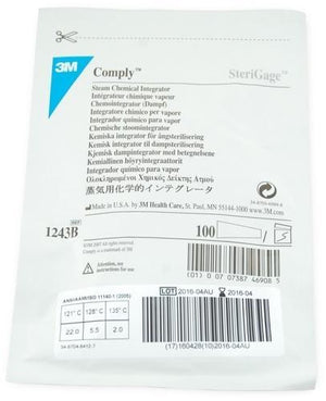 3M Comply SteriGage Chemical Integrator-Medical Supplies-Birth Supplies Canada