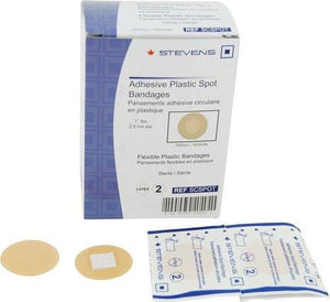 Adhesive Plastic Spot Bandages ~ Box of 100-CLASS 1-Birth Supplies Canada