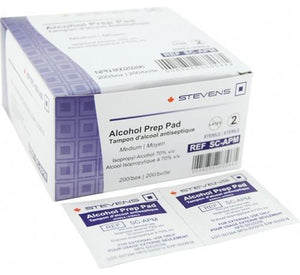 Alcohol Prep Pads-Medical Supplies Misc.-Birth Supplies Canada