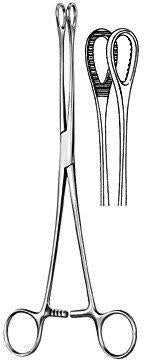 "Foerster Sponge Forceps 9.5"" Serrated-CLASS 1-Birth Supplies Canada"