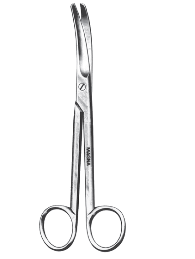 Mayo Scissors, Curved 5.5""