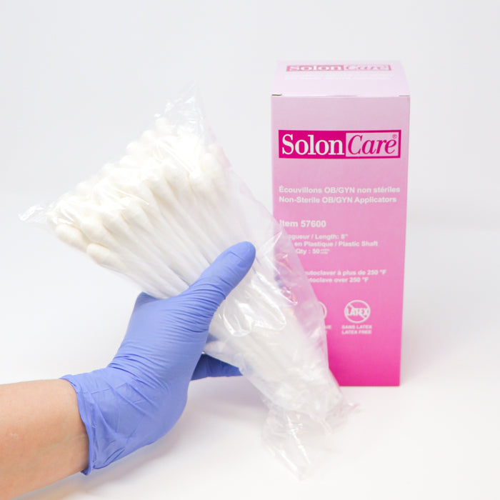 Rayon tipped OBGYN/THROAT Swabs