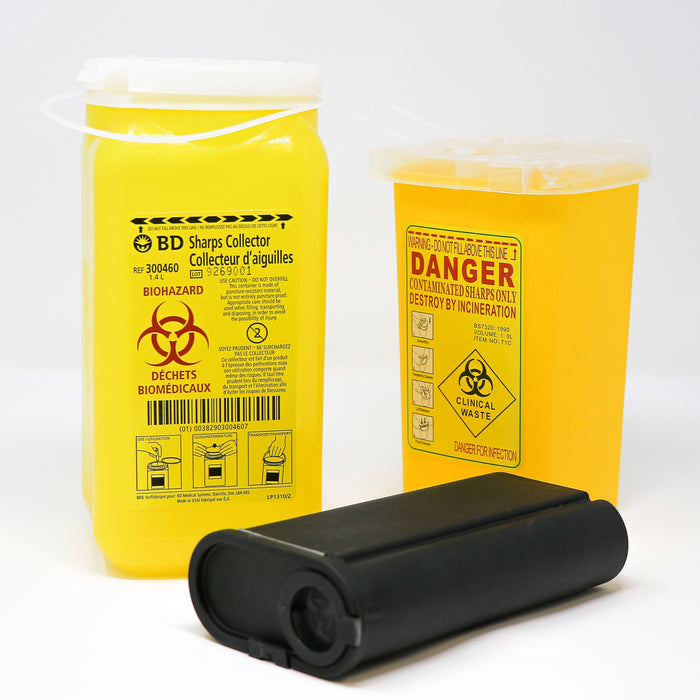 Sharps Collection Containers ~ Various Sizes