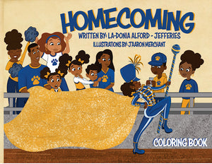 The HBCU Homecoming Coloring Book