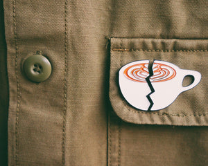 Split latte pin - 2Camelz