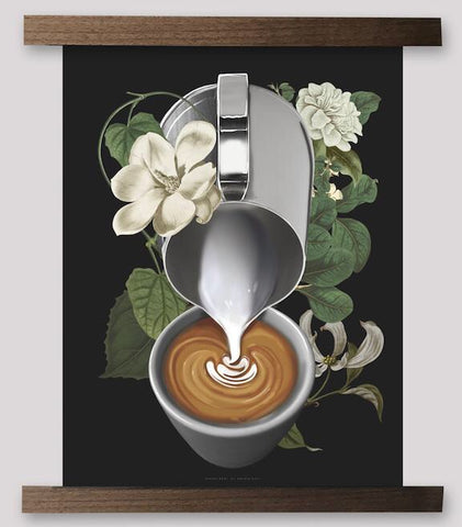 Bloom Series - Latte Pour - 2Camelz