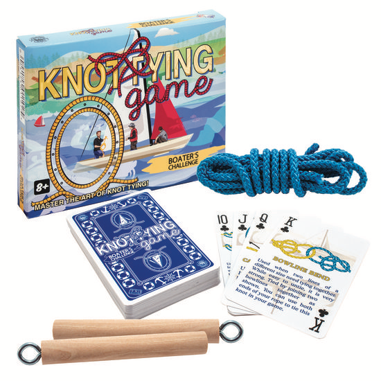 Knot-Tying Game: Boater's Challenge