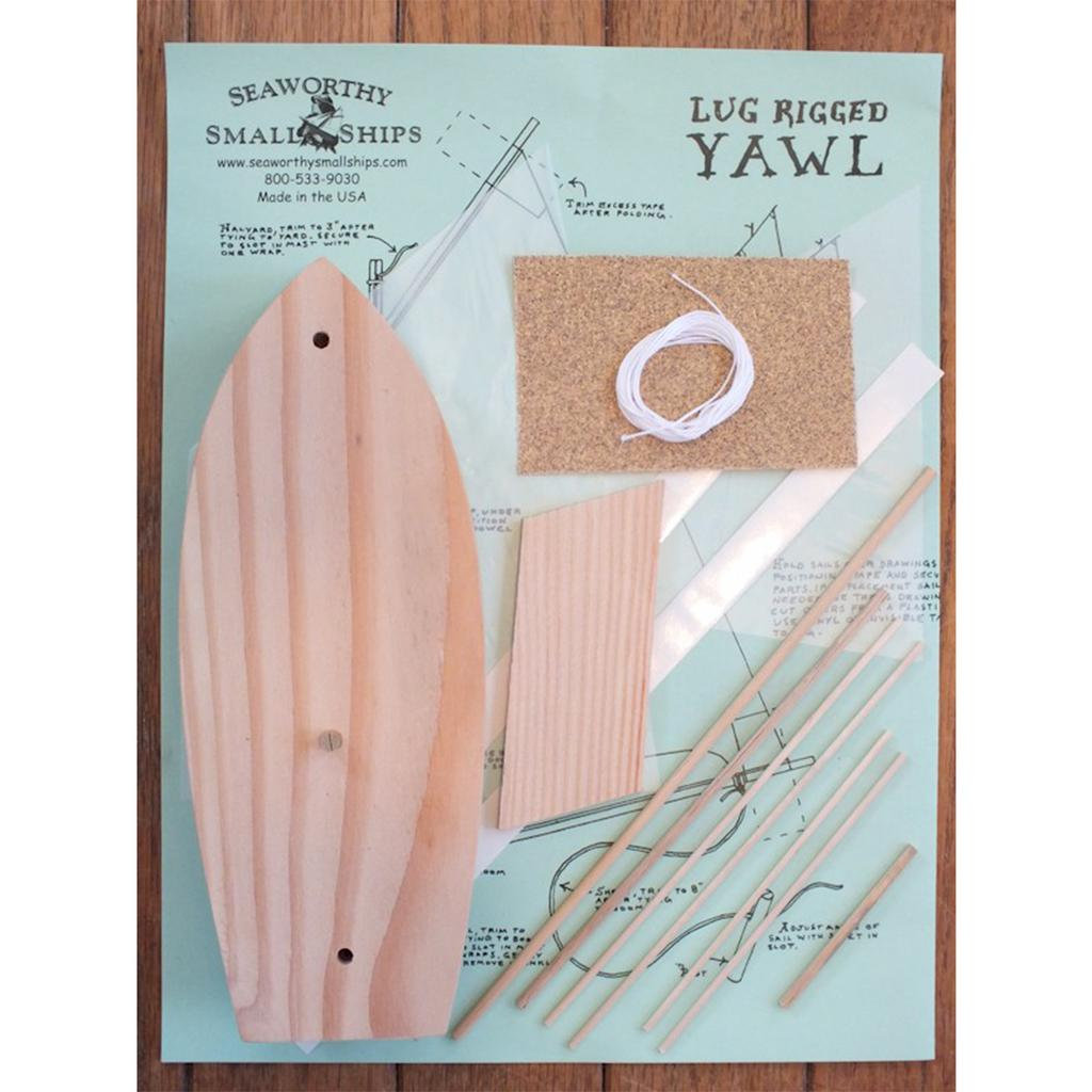 "Pinewood Sailer ""Yawl"" Kit"