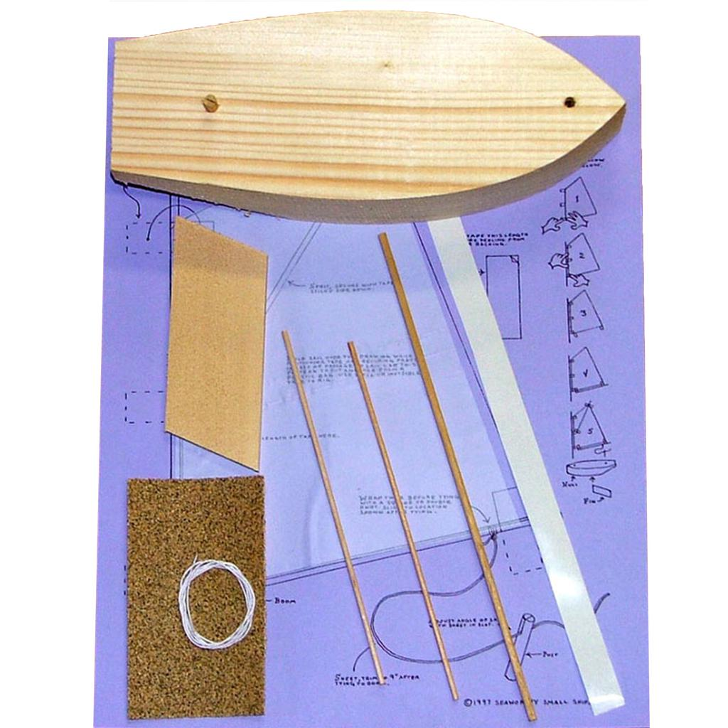 "Pinewood Sailer ""Sprits'l"" Kit"
