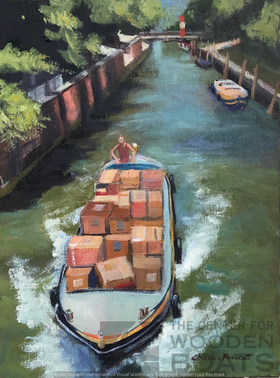 """Amazon Delivery, Castello, Venice"""