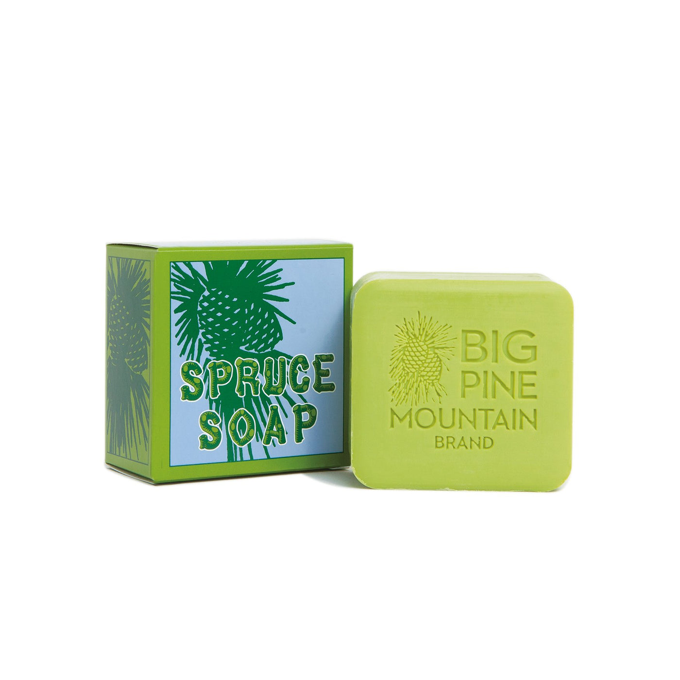 Big Pine Mountain Spruce Soap