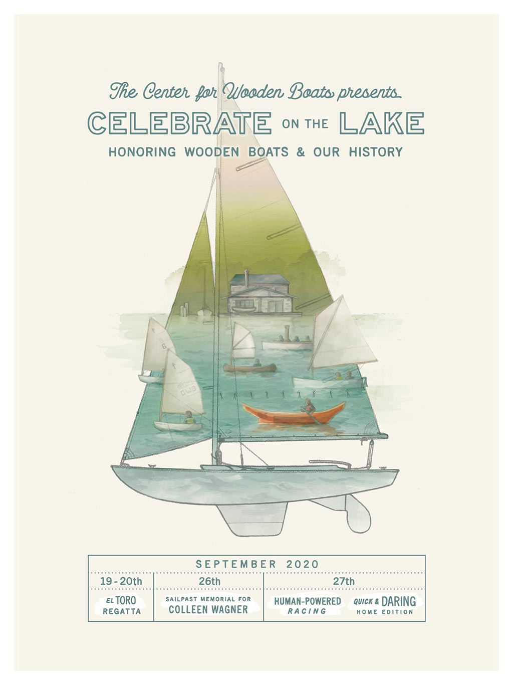 2020 Celebrate on the Lake Poster