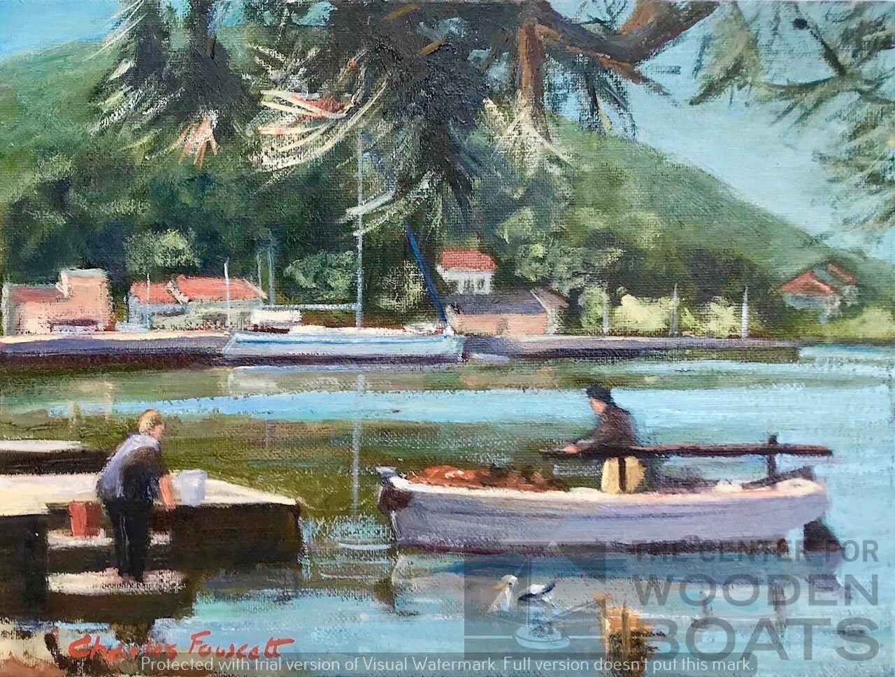 """Cleaning the Catch, Molat, Croatia"""